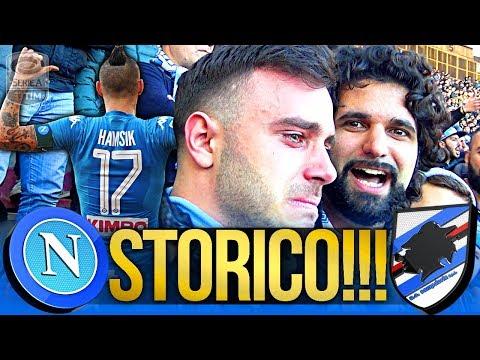 NAPOLI 3-2 SAMPDORIA | STORICO!!! LIVE REACTION GOL CURVA B HD