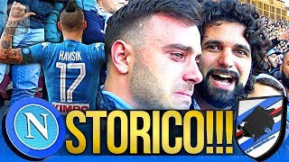 NAPOLI 3-2 SAMPDORIA | STORICO!!! LIVE REACTION GOL CURVA B HD