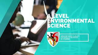 A Level Environmental Science