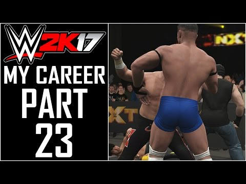 "WWE 2K17 - My Career - Let's Play - Part 23 - ""NXT Tag Team Championship Match!"""