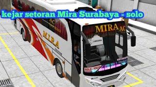 BUS MIRA SURABAYA - SOLO PART 1 | BUS SIMULATOR INDONESIA ( BUSSID)