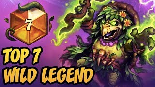 TOP 7 WILD LEGEND | Wild Cubelock 2018 | The Boomsday Project | Hearthstone