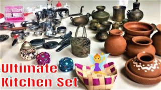 Ultimate!!!  Kitchen Set | Tiny Kitchen Set | Kids Kitchen Set |Miniature cooking set| Theme Kitchen