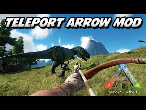 ARK Survival Evolved – TELETRANSPORTE PELA ILHA! TELEPORT ARROW MOD