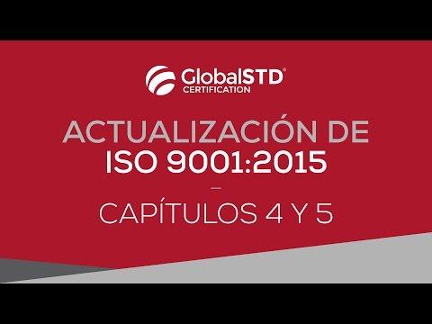 Capítulos 4 y 5 de ISO 9001:2015