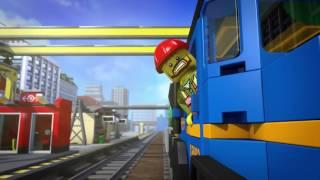 LEGO CITY / мини-фильм про поезд