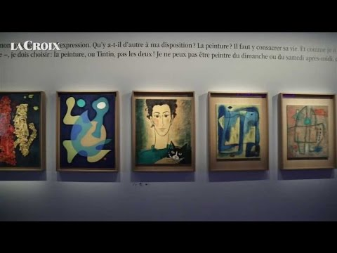 Expo Hergé : le coup de coeur de Benoît Peeters