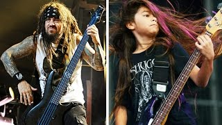Korn Replaces Bassist With 12 Year Old Metallica Protege