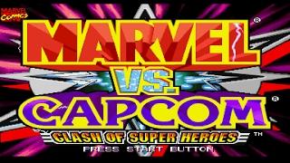 Marvel vs Capcom Clash of Super Heroes   DREAMCAST   HD