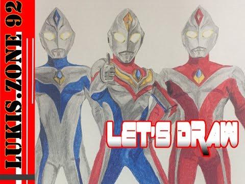 Let's Draw Ultraman Dyna