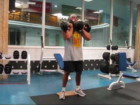 Dumbell Front Squats - YouTube
