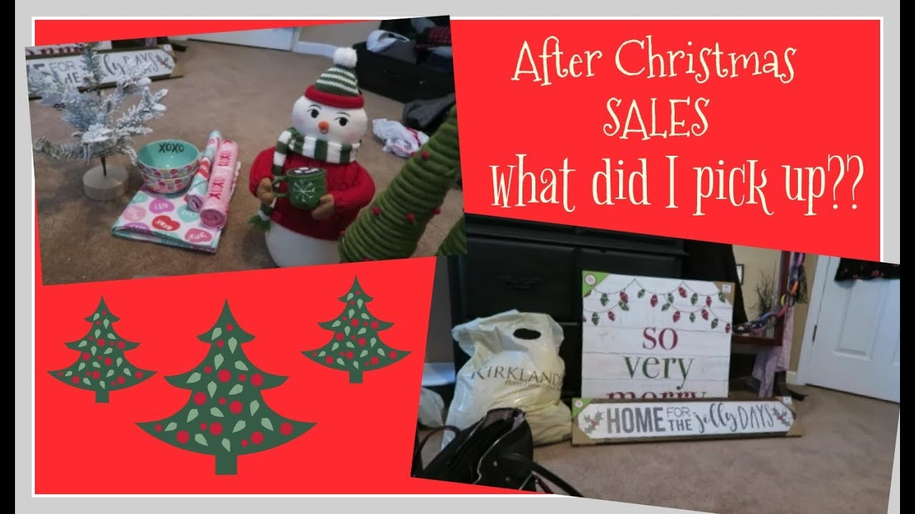 after christmas sales a target and kirklands haul december 2017 - After Christmas Decoration Sales