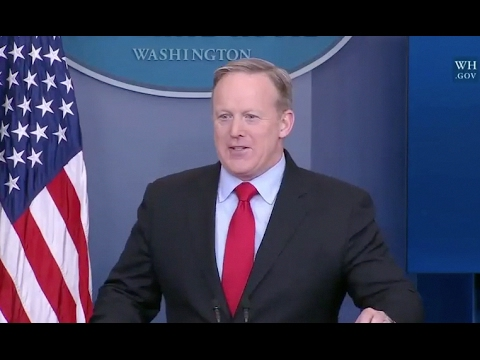 Feb 3, 2017 White House Press Briefing With Sean Spicer- Full Event