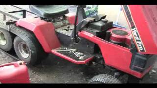 Lawnmower tank tracks test run..avi