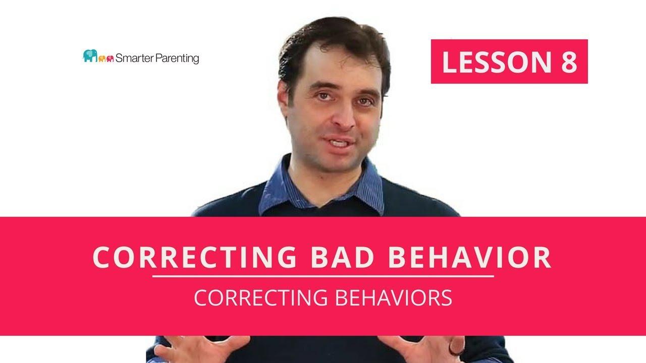 How to correct children's bad behavior | Fixing behavior problems with  Correcting Behavior