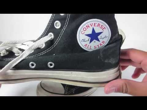 How to clean Converse Chuck Taylors