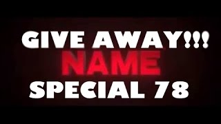 GIVE AWAY (SPECIAL 78) SUBS