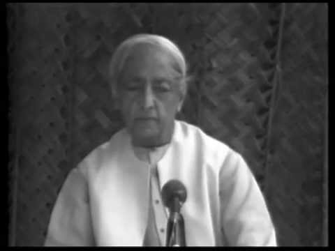 What should I do to make my mind behave rightly? | J. Krishnamurti
