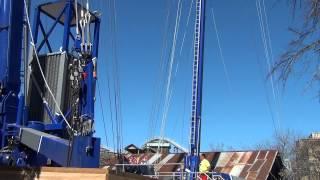 Slingshot (45-meter model):  Six Flags Fiesta Texa