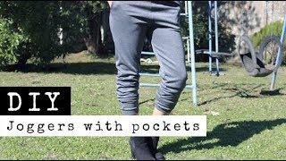 DIY Joggers With Pockets | Loungewear | Yoga/Gym Pants | Comfy & Stylish | Raylene Harvey