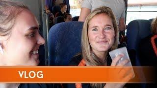 OranjeLeeuwinnen-vlog #5: 'Ik heb Slush Puppy in mijn gezicht!'