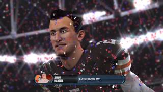 #madden15; #browns Defeat Cowboys In Super Bowl 49