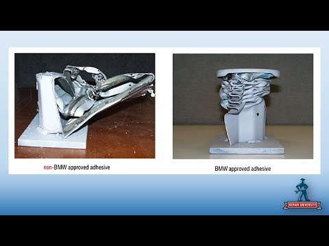 Accessing and Applying BMW Collision Repair Procedures And Information