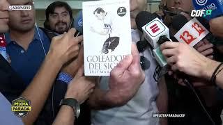 Conferencia de prensa de Aníbal Mosa