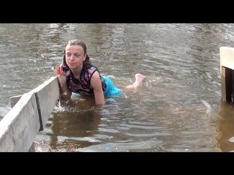 Я - Анна Колесникова, 22 04 2012, купание в Новом Иерусалиме