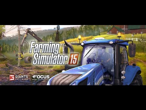 Farm Simulator 15: Day 1: Checking out my new Farm!!