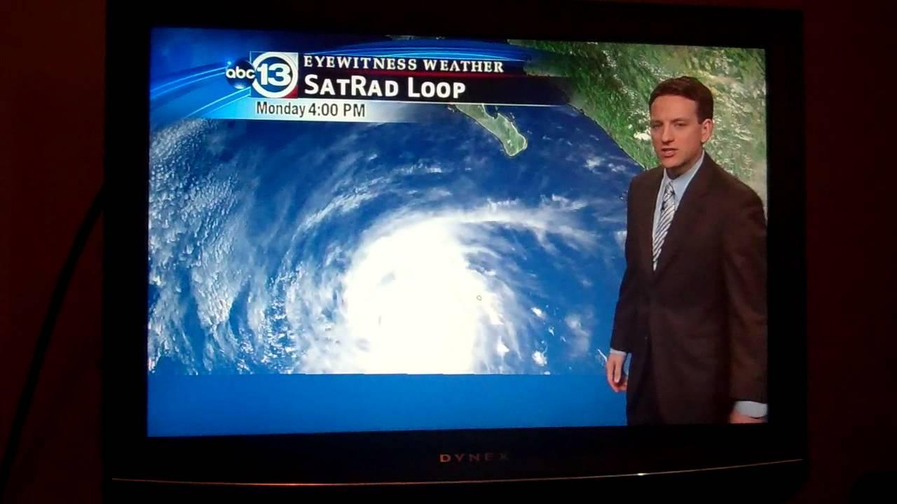 Ktrk Tv Eyewitness News Houston Texas Weather 9242012 Youtube