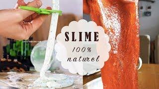 TUTO Comment faire du slime 100% naturel sans borax ni colle