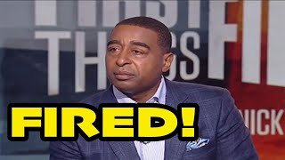 Cris Carter fired from FS1 and First Things First!