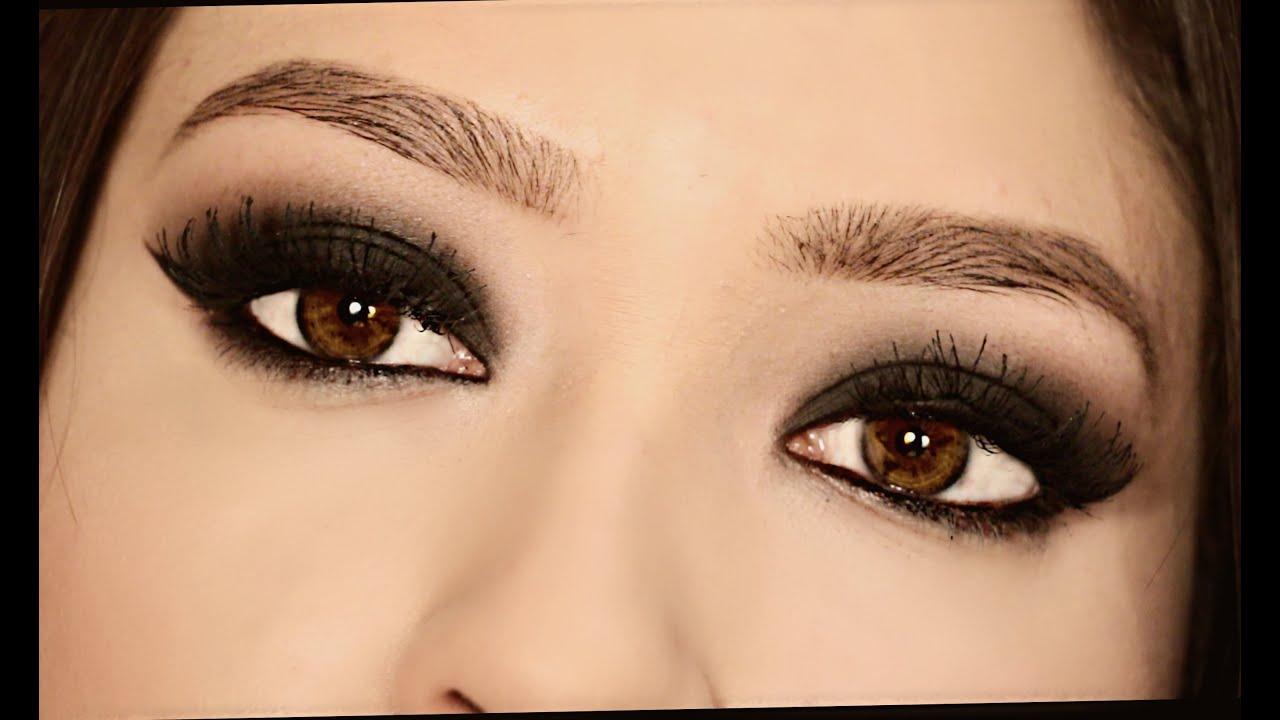 ojos ahumados para ojos marrones