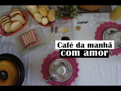Vlog Mesa Posta: Café da Manhã