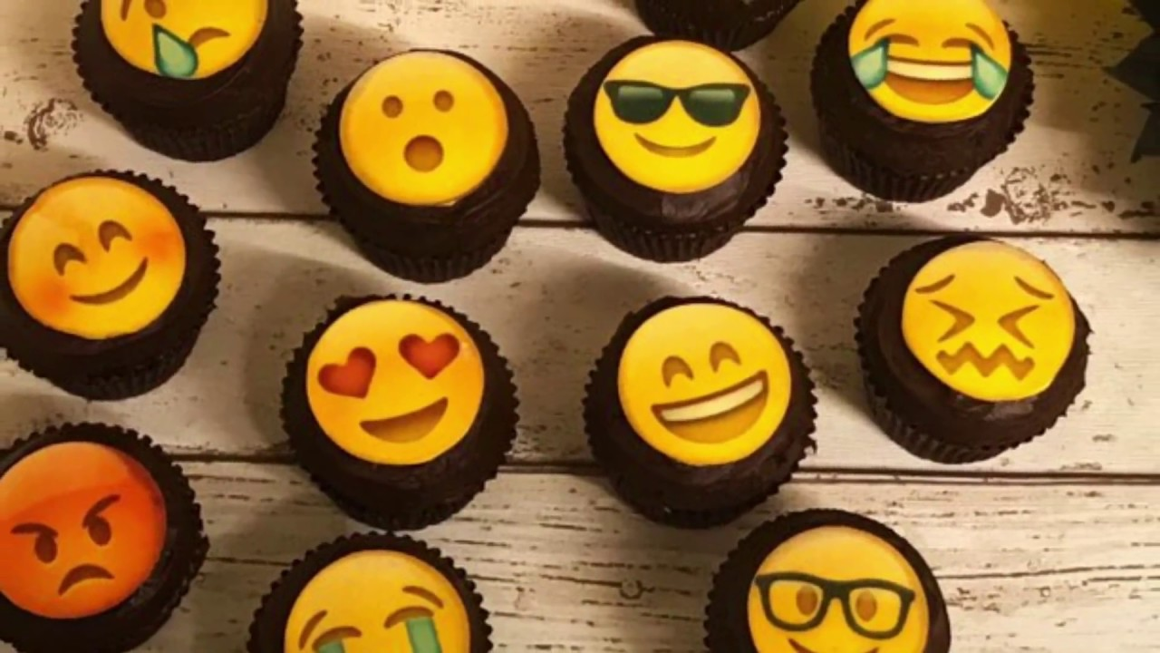 Easy Cheat Emoji Cupcakes Tutorial Great Party Idea