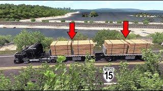 Carretera libre rumbo a Acaponeta, Nayarit, Mexico | Peterbilt 378 | American Truck Simulator