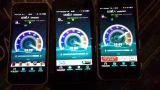 Speedtest 4G SFR Bouygues Orange