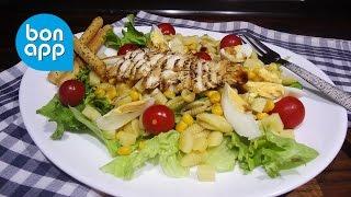 Салат с курицей  Манхэттен