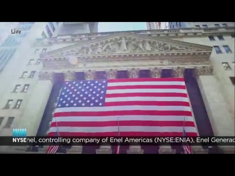 Enel Rings The NYSE Closing Bell
