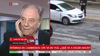 23-05-2019 - Carlos Heller en C5N – Reunión de partidos políticos en sede del PJ - #Unidad2