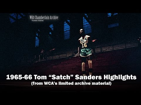 "Tom ""Satch"" Sanders 1966 NBA Playoffs and Season Clips"