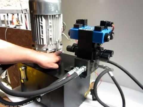 Central hidraulica con motor de 3 hp bomba de 8 litros - Precios de termos electricos de 50 litros ...