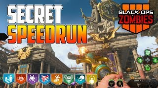 BLACK OPS 4 ZOMBIES - SECRET SPEEDRUN! (BO4 Zombies)