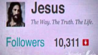 Twitter en los tiempos de Jesús, la pasión de cristo según twitter
