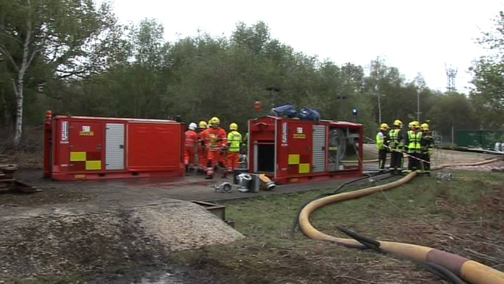 & Exercise Shannon 4-5 May 2012 Fawley Refinery Hampshire - YouTube