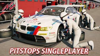 singleplayer pitstops   assetto corsa ger t500rs bmw m3 gt2 imola