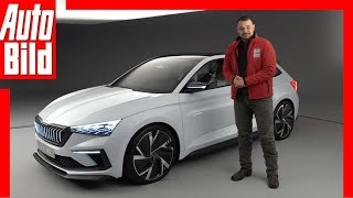Skoda Vision RS (Paris 2018) Sitzprobe / Details / Review