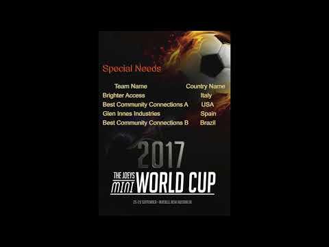 THE JOEYS MINI WORLD CUP DRAW Video  2017