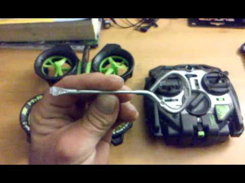 Air Hogs Quad Copter Blade Removal Made Easy